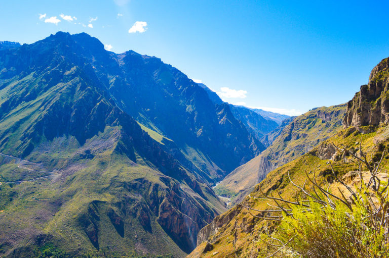 how to hike the colca canyon