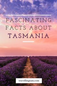 fun facts about tasmania in australia