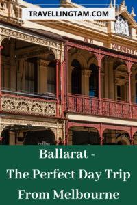 ballarat day trip from Melbourne