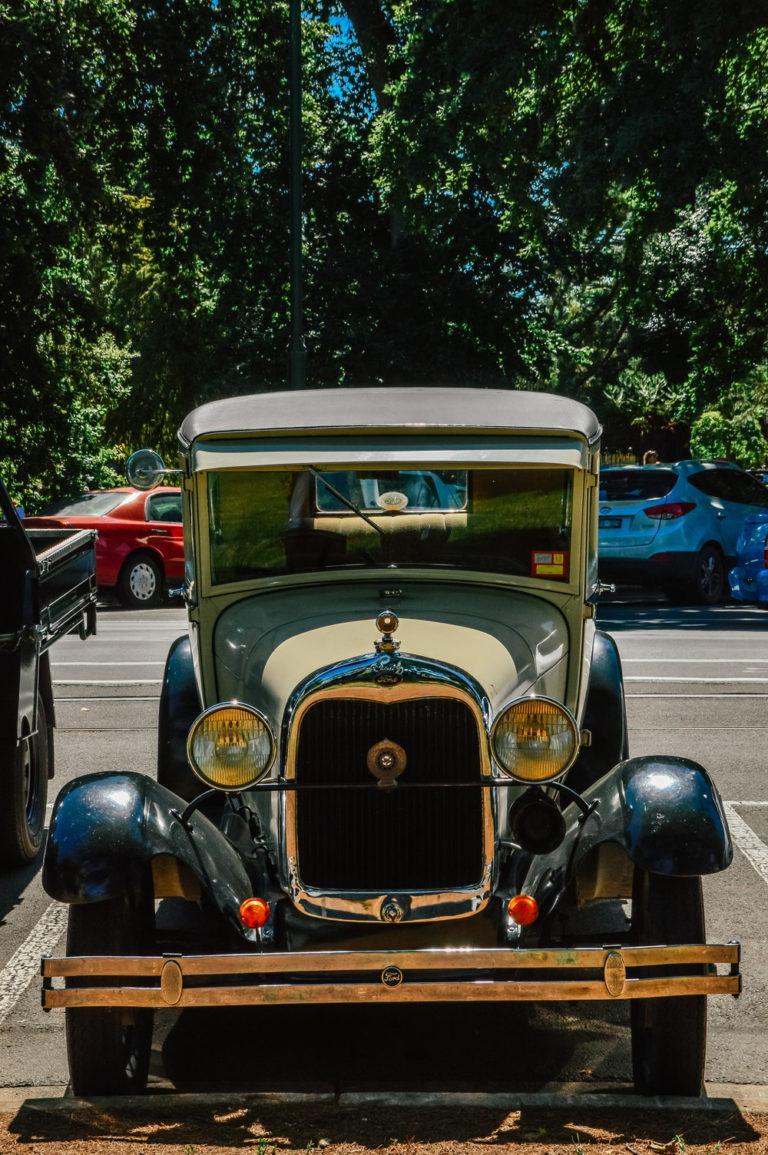 vintage car parked in ballarat