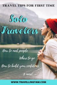 best planning tips for your first trip abroad alone