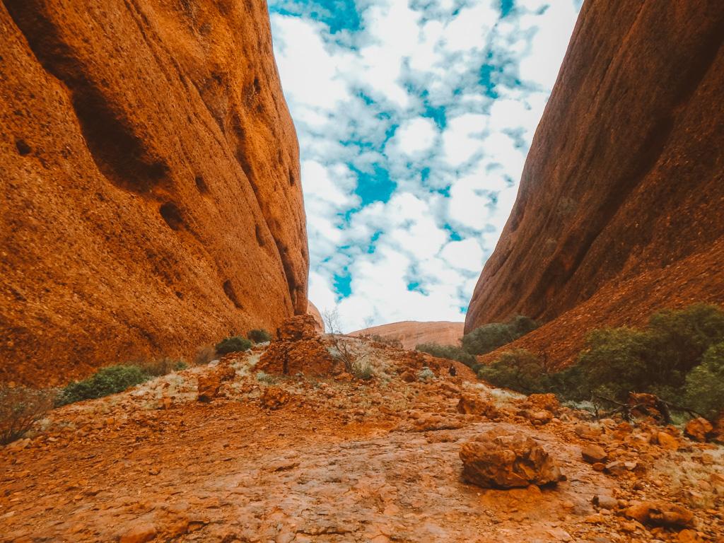 orange rocks at Kata Tjuta in Northern Territory