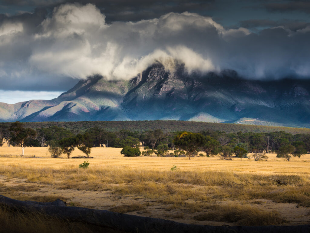 Stirling Ranges in Western Australia