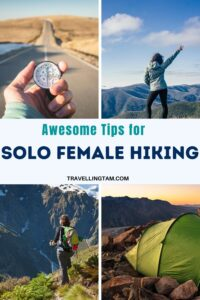 tips for solo hiking asa woman