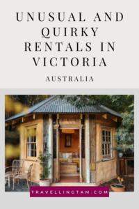 unusual accommodation in Victoria