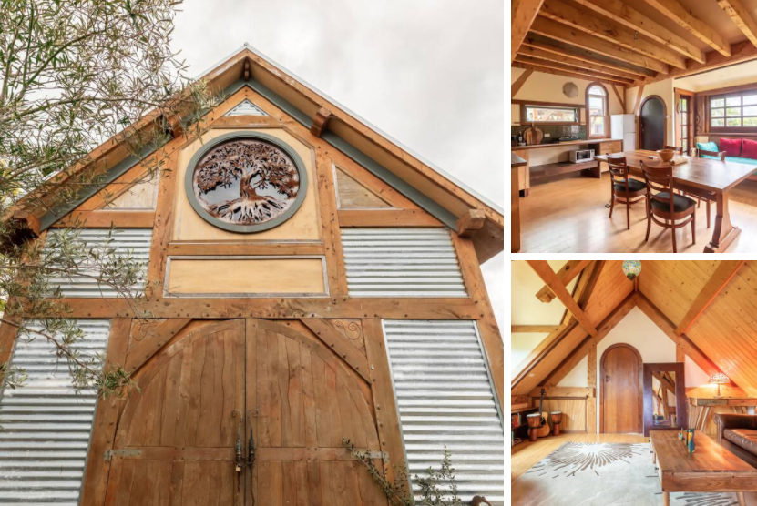 wooden barn conversions rental on Airbnb
