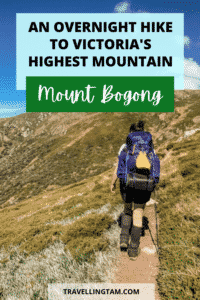 highest mountain in victoria overnight hike from Melbourne