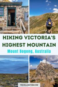 2 day 1 night hike Mount Bogong Summit